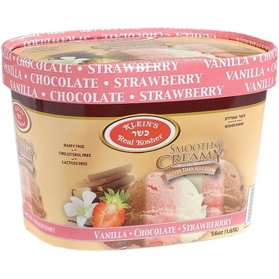Non Dairy Vanilla-Chocolate-Strawberry