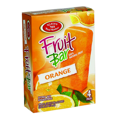 Orange Fruit Bar
