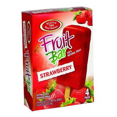 Strawberry Fruit Bar