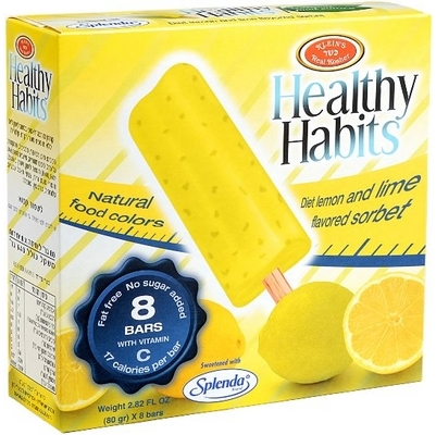 Healthy Habits Lemon Lime Bar