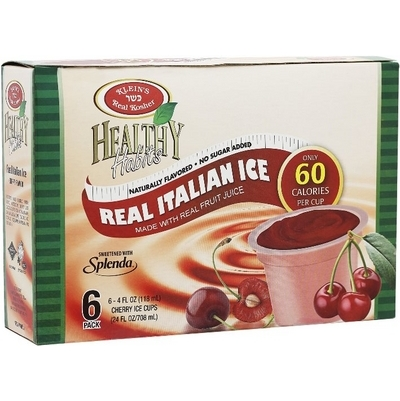 Healthy Habits Cherry Italian Ices