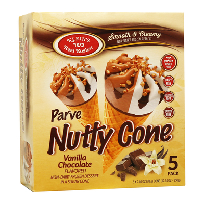 Parve Nutty Cone