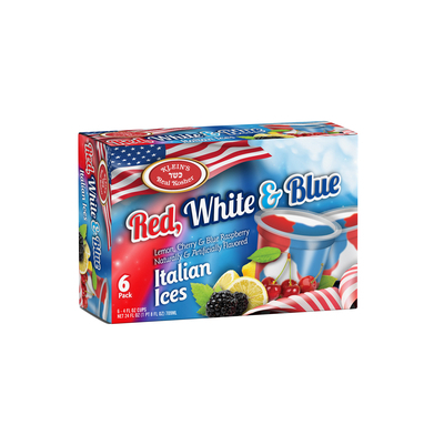 Red, White & Blue Italian Ices